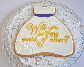 Personalized Bridal Cookie Gram