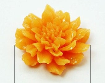 Ships from USA 10- Flower Cabochons