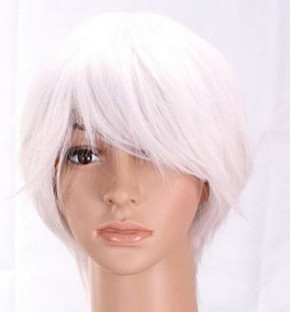 Quality White Wig 109