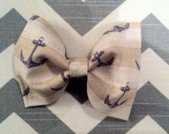 Baby Boy Bow Tie-Anchors Bow Tie-Clip-On-Newborn-Infant-Toddler