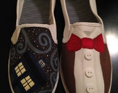 Dr. Who Inspired Shoes - ImmersiveCreations