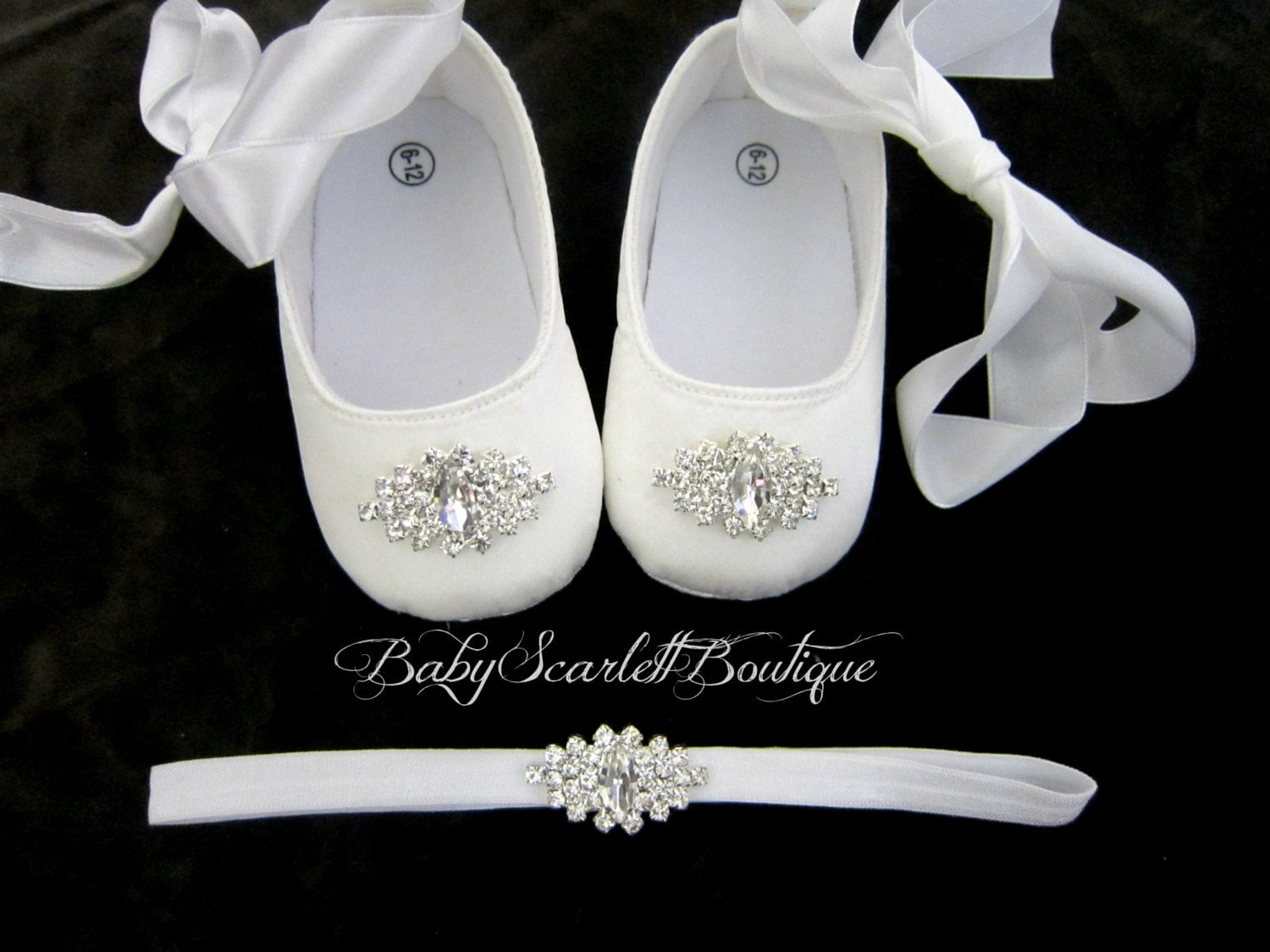 white satin baby soft sole shoeschristening shoes with