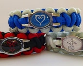 Kingdom Hearts Paracord Bracelets