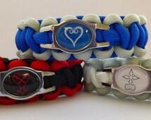Kingdom Hearts Paracord Bracelets