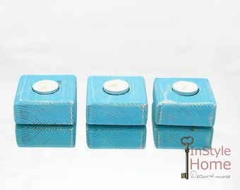 Popular items for wood tealight holder on Etsy