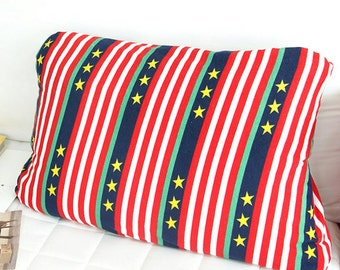 Terry Cloth Fabric Stars & Stripes By The Yard