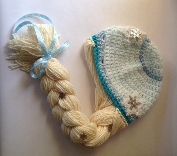 Free Crochet Pattern Frozen Elsa Hat : Unavailable Listing on Etsy