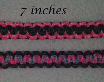 550 cord braided survival bracelet