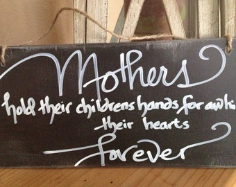 Mother's Day gift, mothers sign, moms sign, mothers love, Mother's Day sign