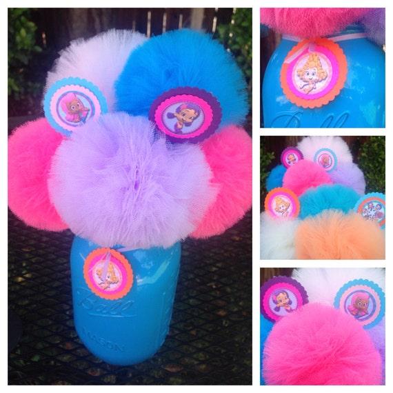 Bubble guppies birthday decorations centerpieces by uptownabby - Bubble guppies center pieces ...