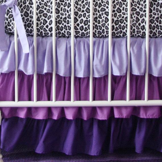 Purple Crib Skirt 81