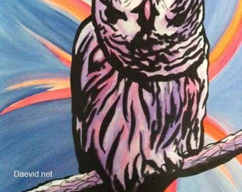 Owl, by Daevid Mendivil