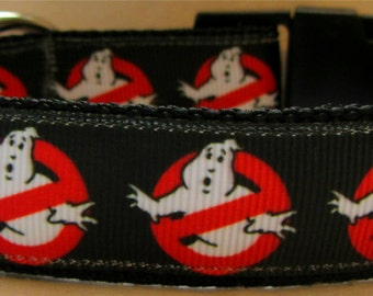 Ghostbusters dog collar