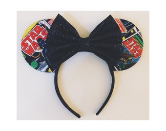 Star Wars Comic Mouse Ears