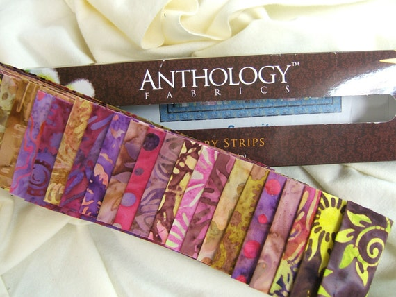 Anthology batik strip