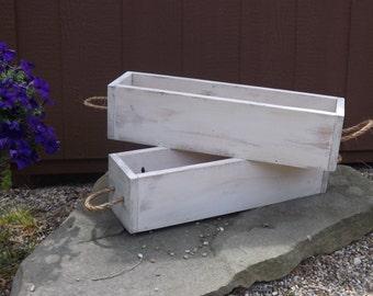 Indoor/outdoor planter box/Table centerpiece/Table trough/Wedding centerpiece