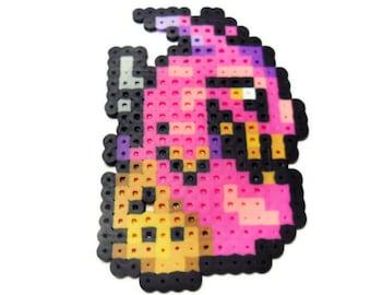 Final Fantasy 6 monster sprite, Typhon bead sprite, 90's rpg video game perler bead pixel art