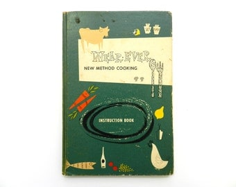Wear-Ever New Method Cookbook - vintage cookbook - 1950s