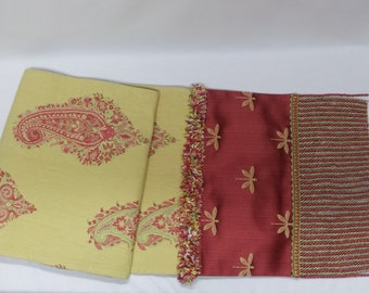 CLEARANCE: Table Runner with Fringe (Orig. 100.00)