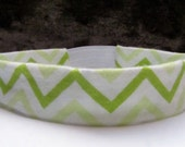 Lime Green Chevron Headband from Urban Infant.