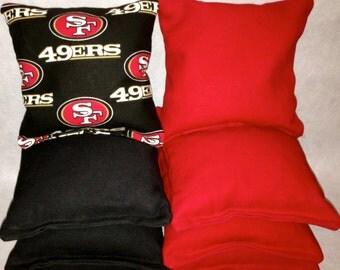49ers Cornhole Etsy