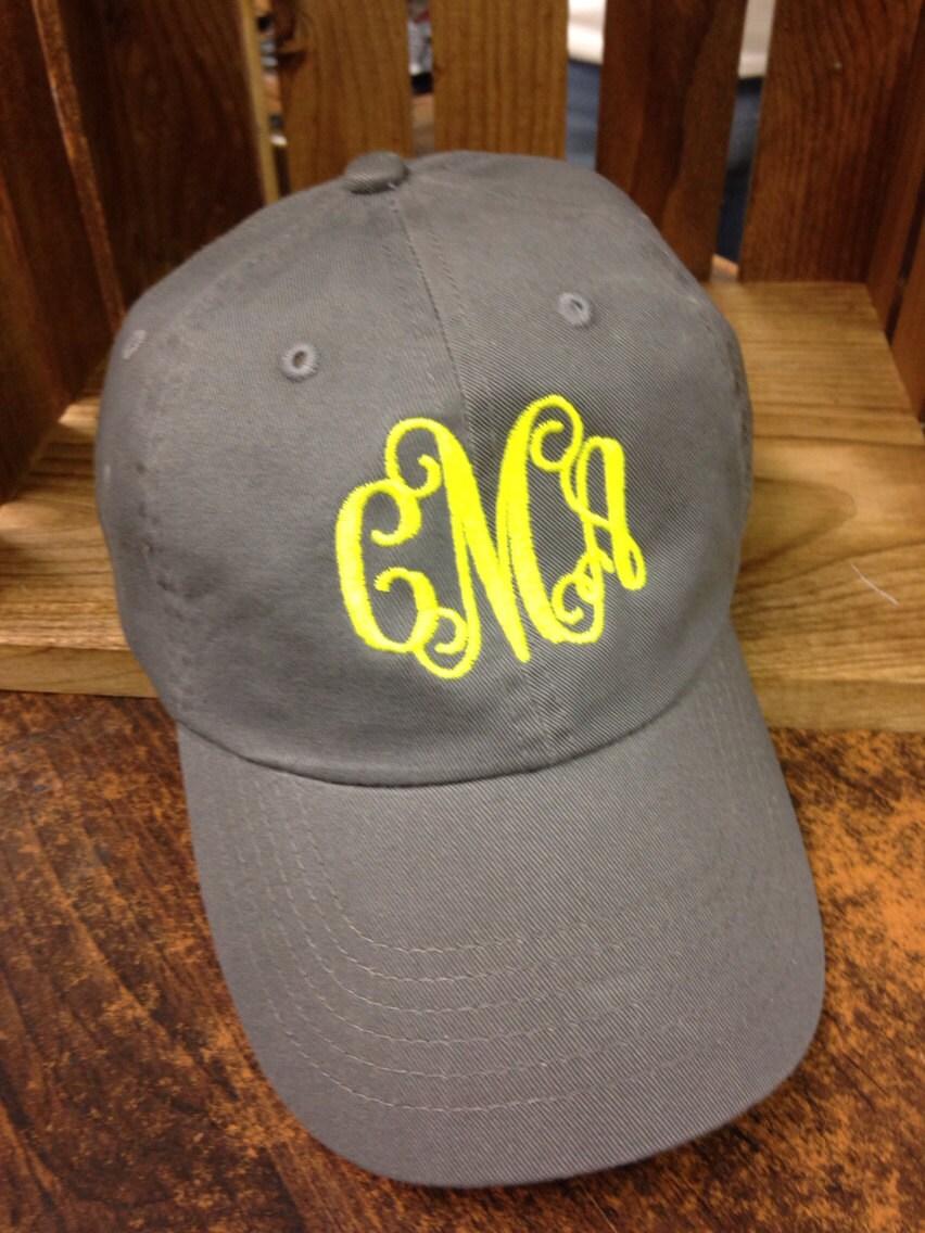 monogrammed cap monogrammed baseball cap monogrammed hat