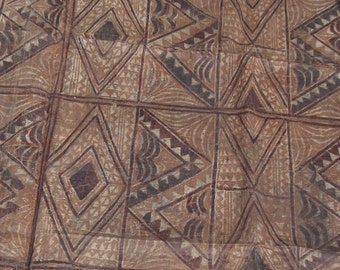 antique bark cloth from Samoa