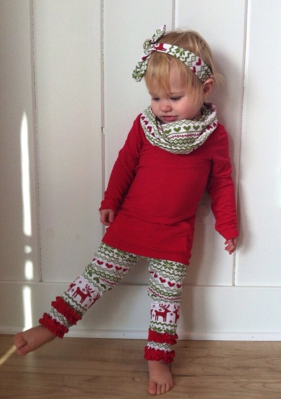 Christmas Red Tunic Shirt With Cowl Neck Red By