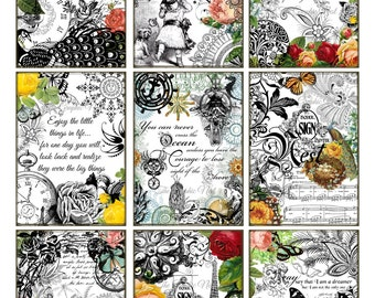 Inspirational ATC cards for scrapbooking, card making, crafts,etc. Digital download