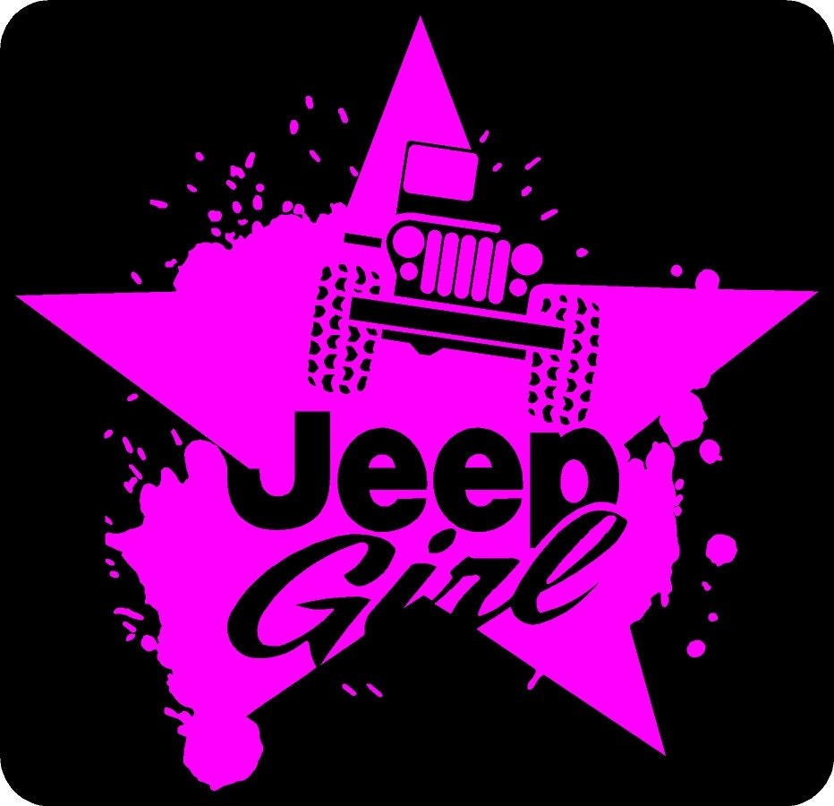 jeep girl decals