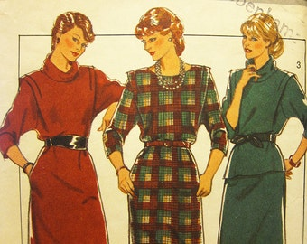 Vintage 1980s 'Style' Sewing Pattern