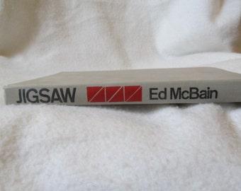 Jigsaw by Ed McBain First Edition 1970