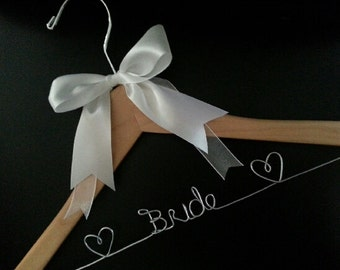 Bridal Hangers with Bow!