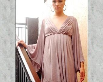 Bell Sleeve Goddess Dress for Womens Summer Fashion Boho Chic Festival Wear Party Dress Wholesale