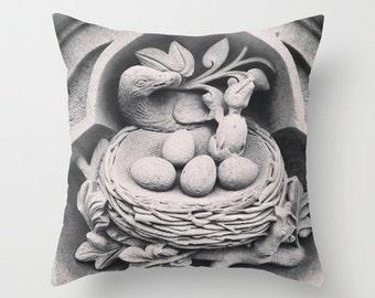 New York City Decor, Central Park, New York Pillow, Gray Pillow Cover, Velvet Cushion Cover, Decorative Pillows, 18x18, 22x22, Gift for Her