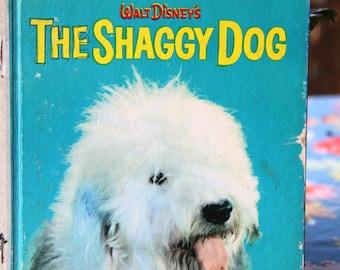 Vintage Little Golden Book The Shaggy Dog 1970's  Hard Back