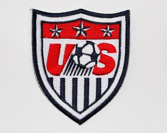"""USA Soccer """"Football"""" Patch World Cup.... About 3 x 2.5 inches"""