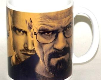 "Breaking Bad Coffee Mug ""Walt And Jesse"", 11 OZ Full Color Mug"