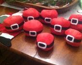 Santa surprise ball handmade unique gift unwind for fun & surprises Retro Advent Christmas