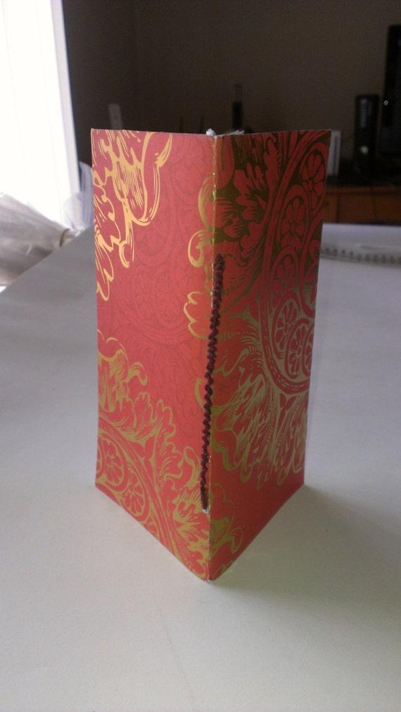 Decorative Book Cover Paper ~ Hand made book decorative paper pamphlet stitch