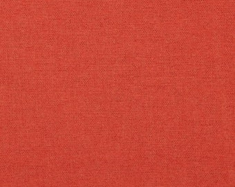 SALE! 50% off. Birch Organic Fabric - Mod Basics Flannel Solids - Collection by Jay-Cyn Designs - Coral -- 1/2 yard