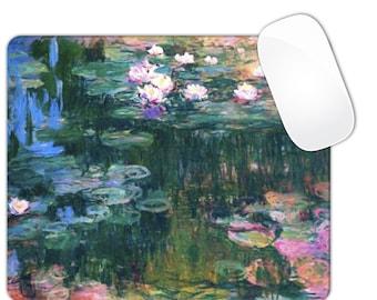 Water Lilies Monet Mouse Pad MousePad
