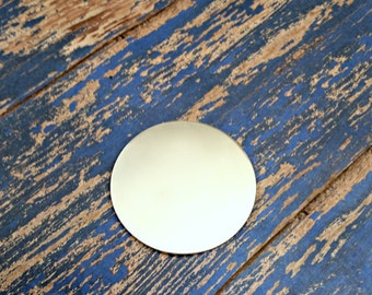 Aluminum 2 inch Round Stamping Blanks - Qty 5