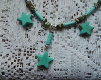Seeing Turquoise Stars
