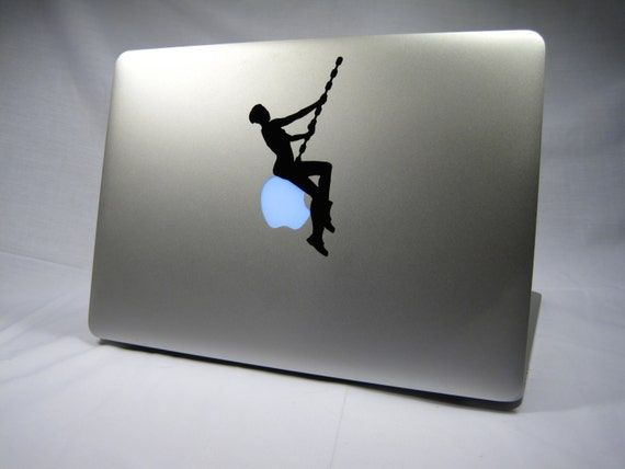 Laptop decal – Laptop Sticker – Macbook Pro decal – Macbook Air decal – Car window – Hipster - Wrecking ball - Miley Cyrus - Hannah Montana