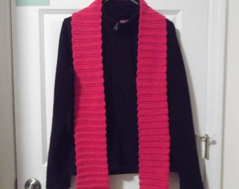 Bright Red Scarf (C)