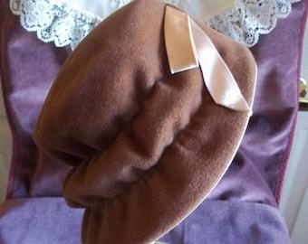 Vintage Ladies Bonnet Style Hat