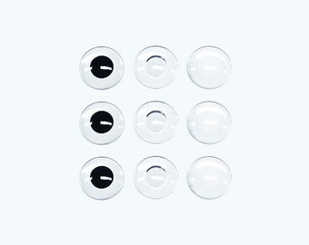 """SA  12"""" Blythe DIY custom eye chip (semi-finished products) Buy ten pair get two pair free"""