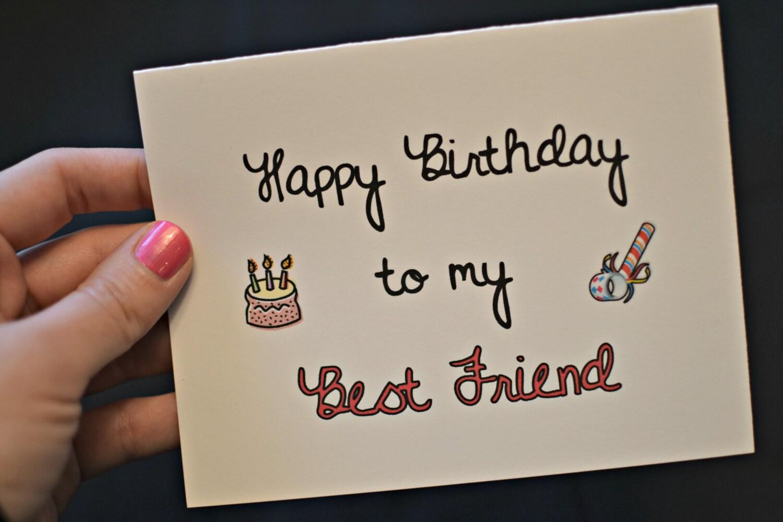 Happy Birthday mein bester Freund von HeHeHilarious auf Etsy