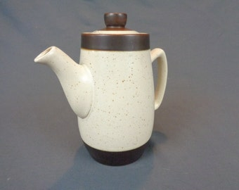 Authentic English Stoneware Coffee/Tea Pitcher